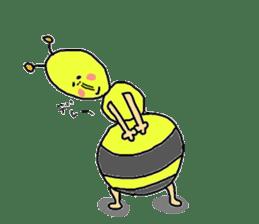 bee sticker #1028556