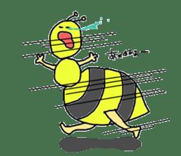 bee sticker #1028562