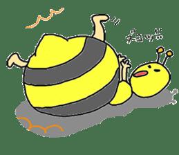 bee sticker #1028563