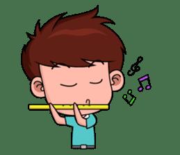 Chibi Dream Team - Tom and Jane (en) sticker #1029594