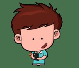 Chibi Dream Team - Tom and Jane (en) sticker #1029609