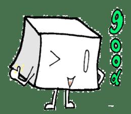 Mr.Tofu sticker #1029951