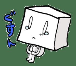 Mr.Tofu sticker #1029952
