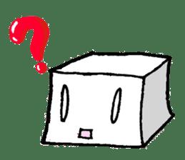 Mr.Tofu sticker #1029967