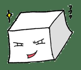 Mr.Tofu sticker #1029977