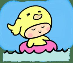 kigurumi sticker #1031430