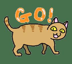 Asian Cat sticker #1031845