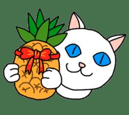 Asian Cat sticker #1031853
