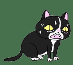 Asian Cat sticker #1031856