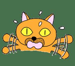 Asian Cat sticker #1031860