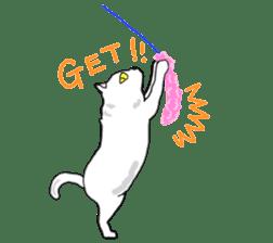 Asian Cat sticker #1031862