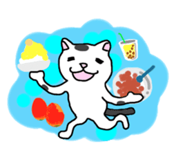 Asian Cat sticker #1031867