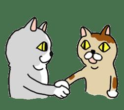 Asian Cat sticker #1031871
