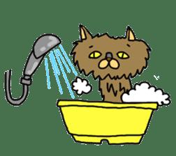 Asian Cat sticker #1031873