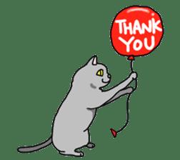 Asian Cat sticker #1031874