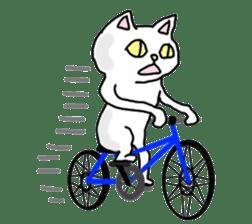 Asian Cat sticker #1031877
