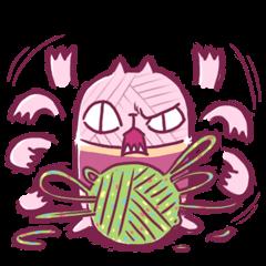 Yarn cat Mi-yarn
