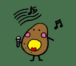 I am Potato sticker #1037345