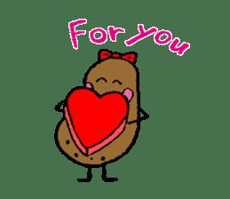 I am Potato sticker #1037346