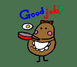 I am Potato sticker #1037352
