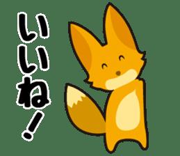 Tanuki & Kitsune sticker #1038011