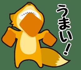 Tanuki & Kitsune sticker #1038023