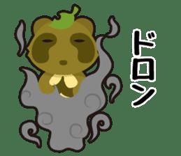 Tanuki & Kitsune sticker #1038030