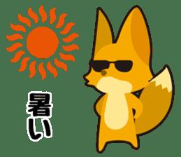Tanuki & Kitsune sticker #1038033