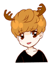 bambi boy sticker #1039107