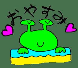 Lovely Monster sticker #1039884