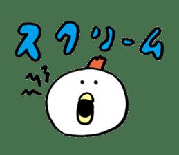 Plump Birdman 2 sticker #1040583