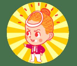 Japanese festival! The Danjiri girls! sticker #1040883