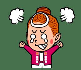 Japanese festival! The Danjiri girls! sticker #1040899