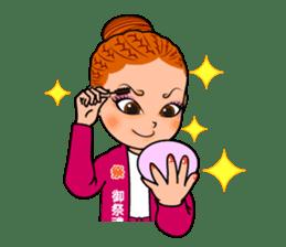 Japanese festival! The Danjiri girls! sticker #1040911
