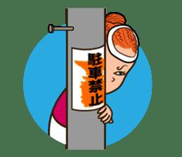 Japanese festival! The Danjiri girls! sticker #1040914