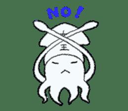 Squid boy sticker #1041484