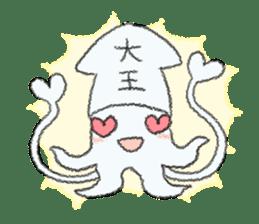 Squid boy sticker #1041486