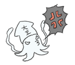 Squid boy sticker #1041491