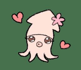 Squid boy sticker #1041493