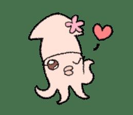 Squid boy sticker #1041494