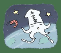 Squid boy sticker #1041501