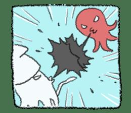 Squid boy sticker #1041516