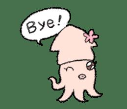 Squid boy sticker #1041517