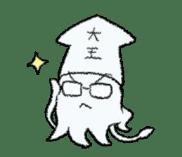 Squid boy sticker #1041519