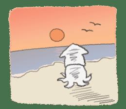 Squid boy sticker #1041521