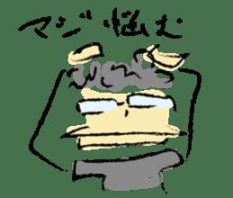 Mr. Ikeda and Johnny frog. sticker #1041884