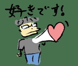 Mr. Ikeda and Johnny frog. sticker #1041893