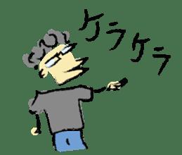 Mr. Ikeda and Johnny frog. sticker #1041896