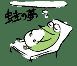 Mr. Ikeda and Johnny frog. sticker #1041908