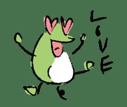 Mr. Ikeda and Johnny frog. sticker #1041913